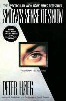 Cover of the book Smilla's sense of snow