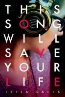 Cover of the book This song will save your life