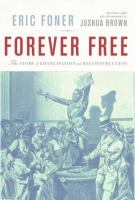 Book cover for Forever Free by Eric Foner
