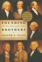Cover of the book Founding brothers : the revolutionary generation