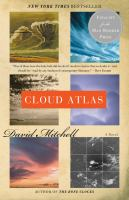 Book cover for Cloud Atlas by David Mitchell