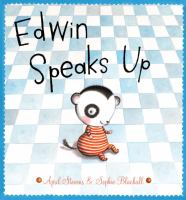 Cover of the book Edwin speaks up