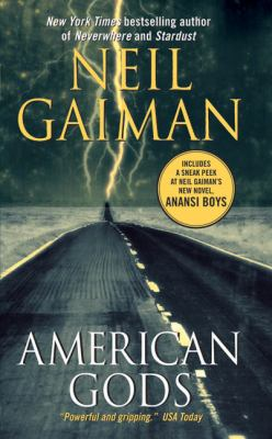 American Gods book jacket