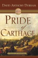 Cover of the book Pride of Carthage : a novel of Hannibal