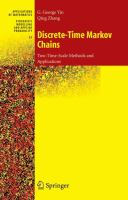 Discrete-time Markov chains [electronic resource] : two-time-scale methods and applications