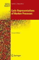 Cycle representations of Markov processes [electronic resource]