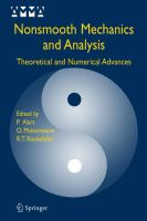 Nonsmooth mechanics and analysis [electronic resource] : theoretical and numerical advances
