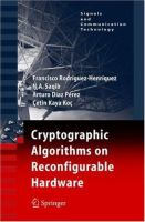Cryptographic algorithms on reconfigurable hardware [electronic resource]