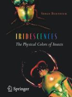 Iridescences : the physical colors of insects