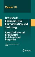 Arsenic pollution and remediation [electronic resource] : an international perspective