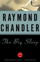 The Big Sleep (book cover)