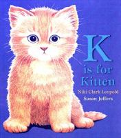 K Is for Kitten
