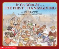 If you were at-- the first Thanksgiving