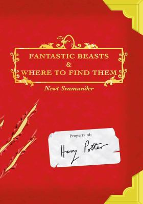 Fantastic Beasts and Where to Find Them book jacket
