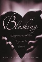 Book cover for Blushing by Paul Janeczko