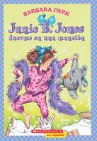 Junie B. Jones duerme en una mansión