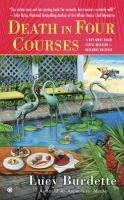 Cover Image of Death in four courses