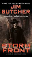 Book cover for Storm Front by Jim Butcher