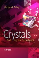Crystals and crystal structures [electronic resource]