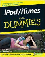 iPod / iTunes para dummies