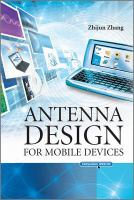 Antenna design for mobile devices [electronic resource]