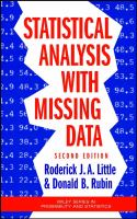 Statistical analysis with missing data [electronic resource]