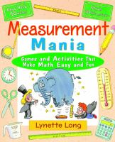 Measurement mania [electronic resource] : games and activities that make math easy and fun