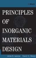 Principles of inorganic materials design [electronic resource]