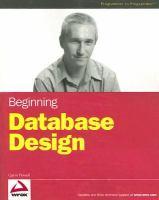 Beginning database design [electronic resource]