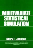 Multivariate statistical simulation [electronic resource]