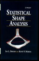 Statistical shape analysis [electronic resource]