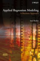Applied regression modeling [electronic resource] : a business approach