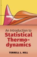 An introduction to statistical thermodynamics [electronic resource]