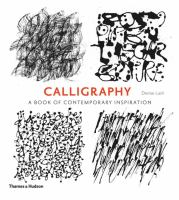Calligraphy : a book of contemporary inspiration