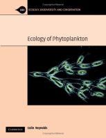 Ecology of phytoplankton [electronic resource]
