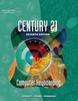 Century 21 Computer Keyboarding