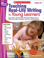 Teaching Real-life Writing to Young Learners