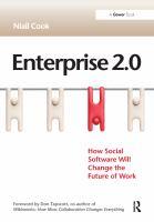 Enterprise 2.0 catalog