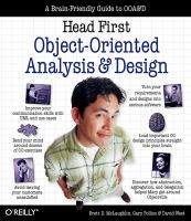 Head first object-oriented analysis and design [electronic resource]
