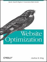 Website Optimization catalog