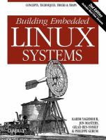 Building embedded Linux systems [electronic resource]