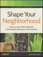 Shape Your Neighborhood