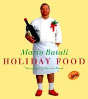 Book cover for Holiday Food by Mario Batali