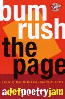 Bum rush the page : a Def Poetry Jam