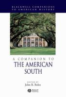 A companion to the American South [electronic resource]