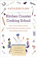 Book cover for The Kitchen Counter Cooking School by Kathleen Flinn