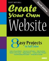 Create Your Own Website catalog