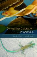 Concealing coloration in animals [electronic resource]