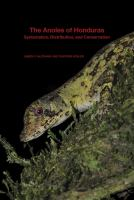 The anoles of Honduras : systematics, distribution, and conservation