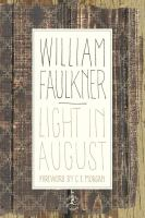 Cover Image of Light in August